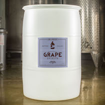 Organic Alcohol 190 Proof Grape Drum
