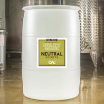 Utility Grade 190 Proof Neutral Alcohol Drum